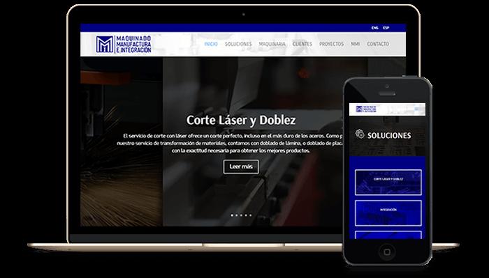 Diseño de Páginas de Internet y Sitios Web en Reynosa Tamaulipas